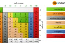 Main group in the periodic table