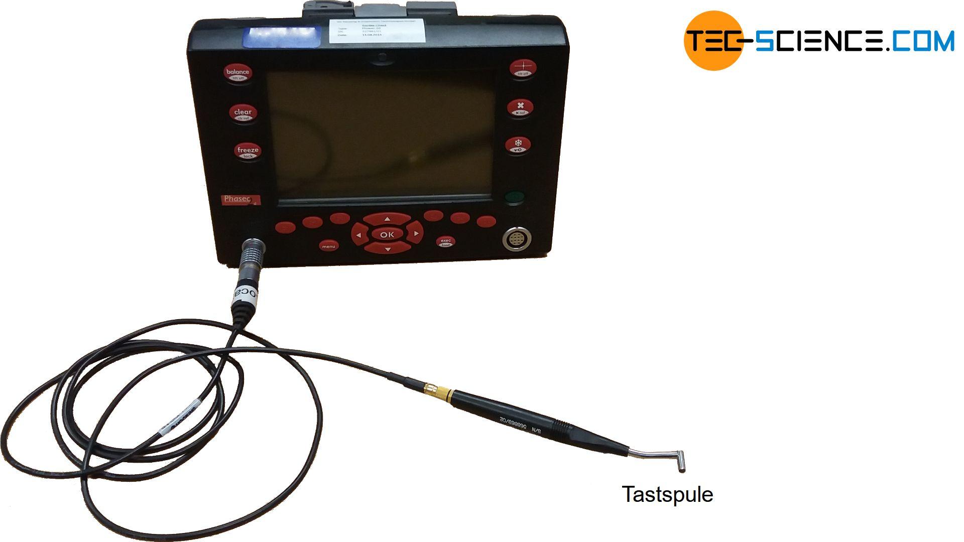 Messgerät für die Wirbelstromprüfung