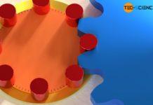 Anordnung der Triebstöcke auf dem Rollkreis