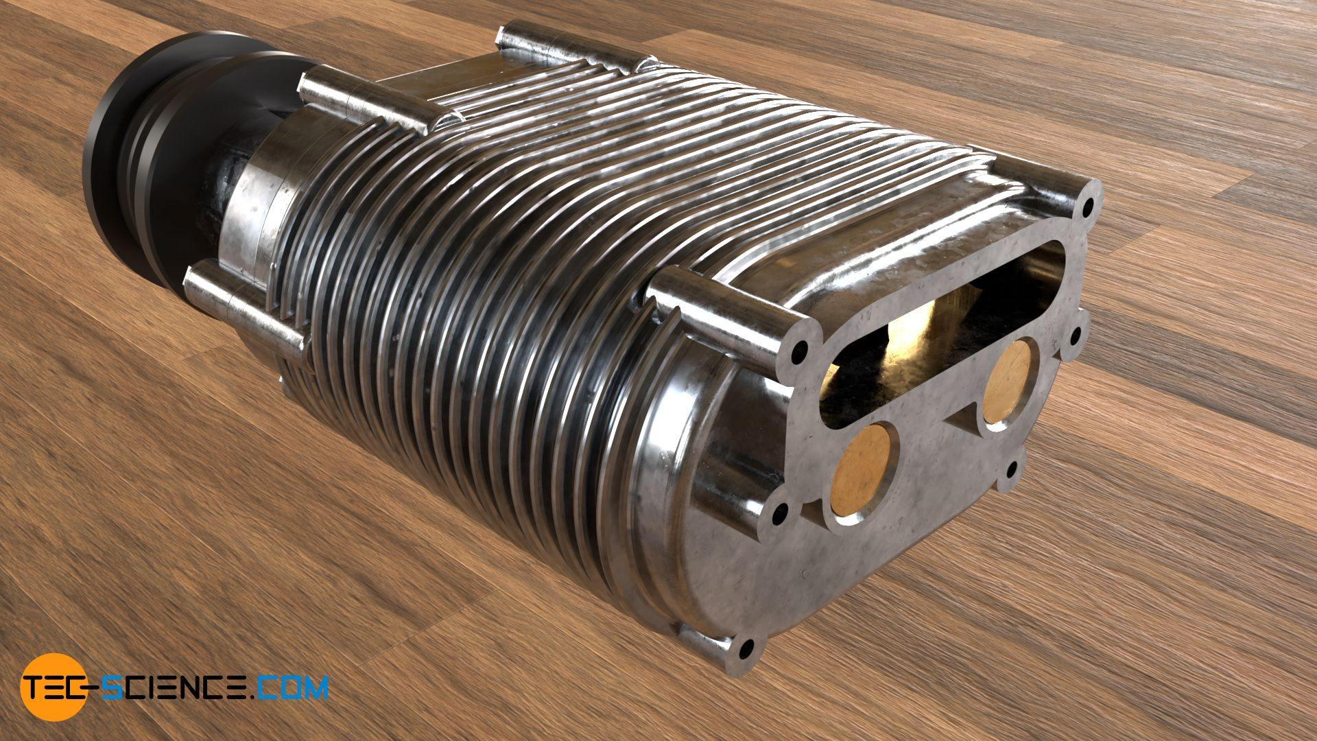 Roots type blower (supercharger)