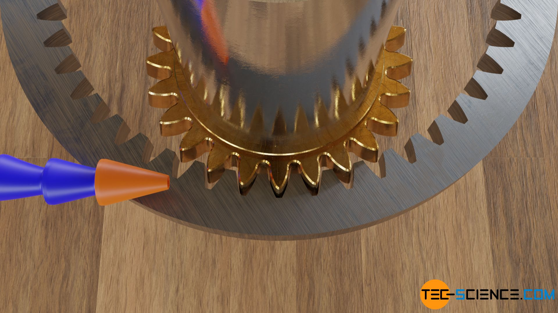 Manufacturing an internal gear by shaping