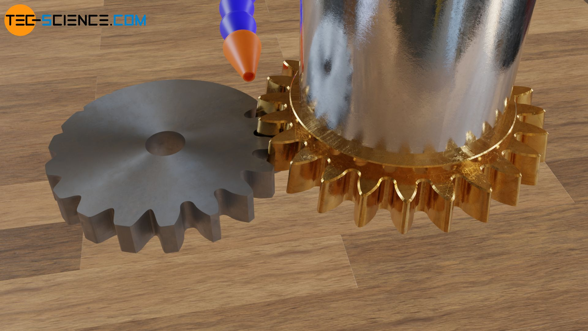 Shaping of a gear