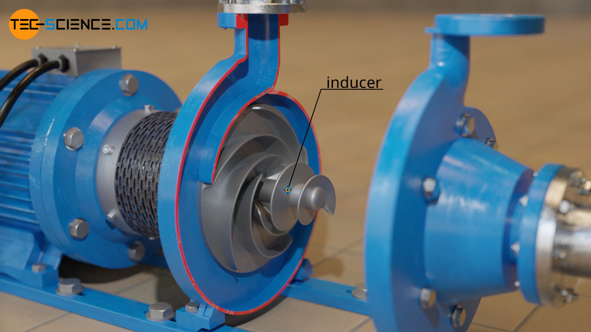 Inducer of a centrifugal pump
