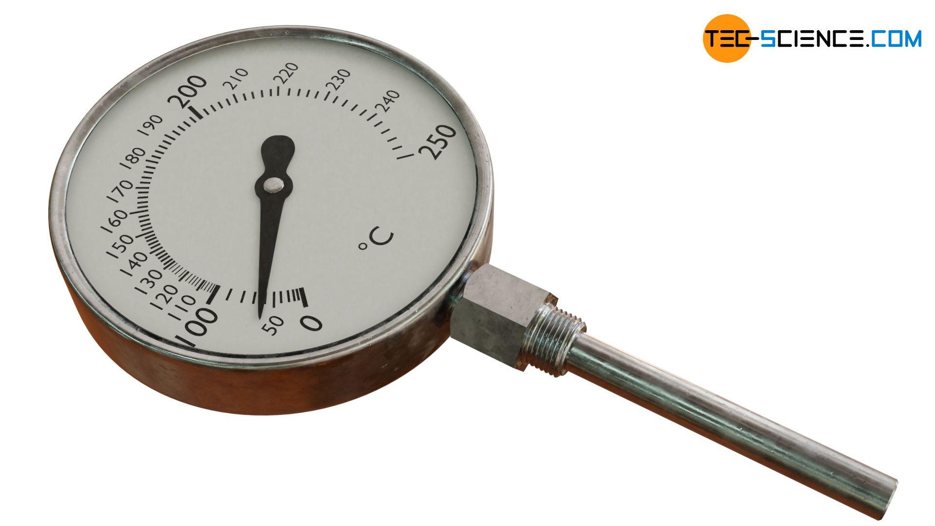Dampfdruck-Federthermometer