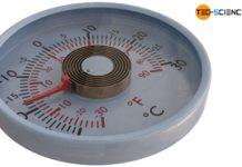 Bimetal thermometer (spiral type)